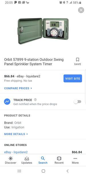 Orbit Water Irrigation Sprinkler Timet for Sale in Fontana, CA