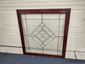 Ledded glass window. for Sale in Bloomingdale, IL
