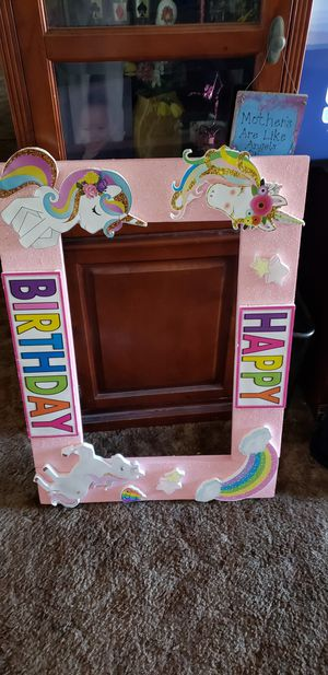 Birthday picture frame for Sale in San Diego, CA