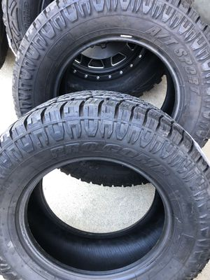 (2) ProComp A/T Tires 305/60/ R18 NEW $300 for Both for Sale in Riverside, CA
