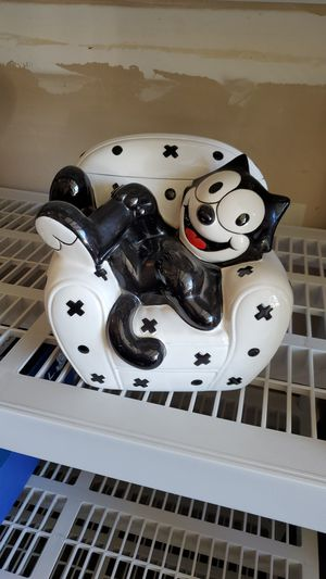 Felix the cat collectible cookie jar for Sale in Fresno, CA