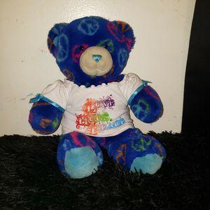 Build-a-Bear Peace Sign Bear for Sale in Azusa, CA