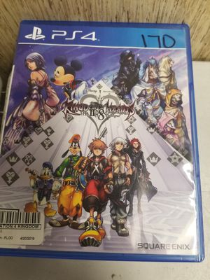 Kingdom Hearts 2.8 Ps4 for Sale in Lakeland, FL