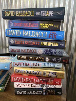 David Baldacci Collection for Sale in San Antonio, TX