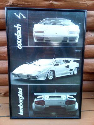 Lamborghini Countach Poster for Sale in New Britain, CT