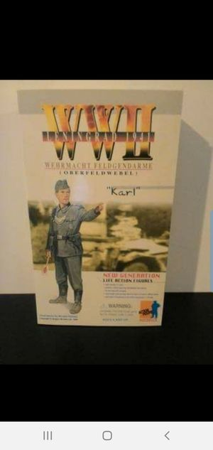 "WW II LENINGRAD 1941 ""KARL"" NEW GENERATION LIFE ACTION FIGURE for Sale in Ladson, SC"