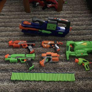 Nerf Gun Bundle With 40 Darts for Sale in Baldwin Park, CA