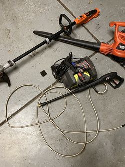 Electric Pressure Washer, Leaf Blower And Weed eater for Sale in Simpsonville,  SC