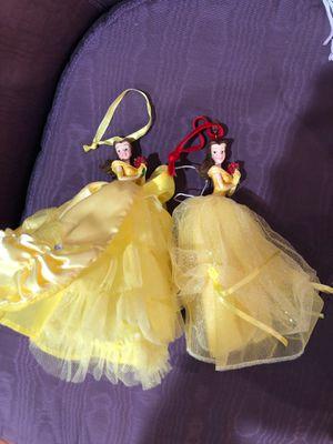 Disney Princess Belle Ornaments for Sale in Los Angeles, CA