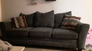 Couch loveseat 3 queen size beds nightstands kitchen table with benches for Sale in Fort Lauderdale, FL