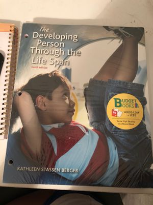 Developing person Through the Life span 10th edition for Sale in Houston, TX
