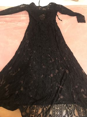 Forever 21 long sheer dress size 6 for Sale in Miami, FL