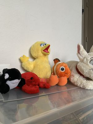 set of plushies for Sale in Miami, FL