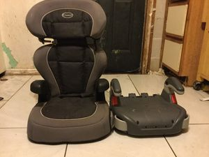 Car seat plus booster chair for Sale in Belle Isle, FL