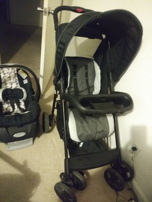 Baby stroller and car seat for sale for Sale in Gilroy, CA