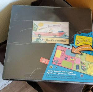 New Pre-designed Vacation Scrapbook for Sale in Highland, CA
