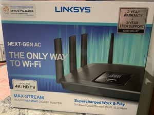 Linksys next gen max stream router SUPERFAST !! for Sale in Humble, TX