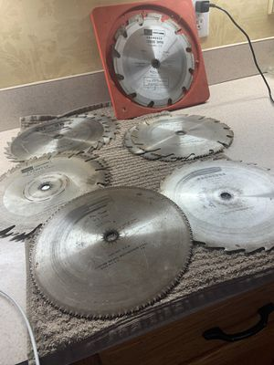 Assorted Kromedge Circular saws for Sale in Castle Creek, NY