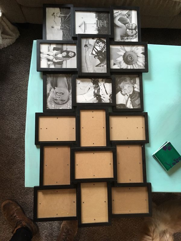 """Two 5x7"""" photo collage frames"""