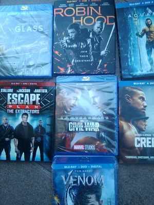 7 brand-new Blu-ray disks for Sale in Oakland, CA