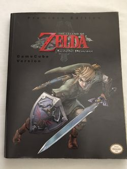 The Legend Of Zelda Twilight Princess GameCube Version Great Condition for Sale in Reedley,  CA