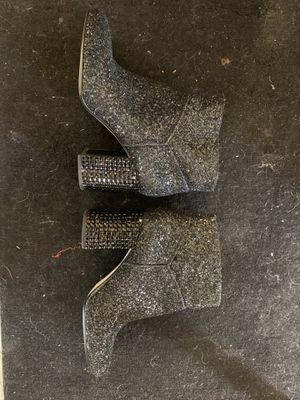 Michael Kors black sparkle boots for Sale in Clements, CA