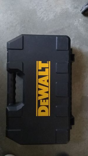 DeWalt drill box only for Sale in Stockton, CA