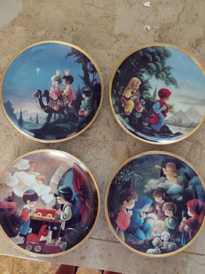 The Hamilton Collection Precious Moments dishes for Sale in NEW PRT RCHY, FL