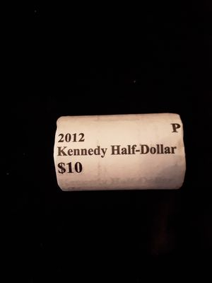 2012 P US Mint Uncirculated KENNEDY Half Dollar Roll Coins for Sale in Land O Lakes, FL