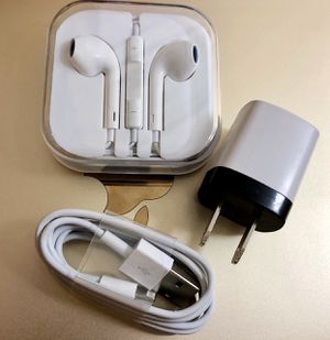 Headphones, Charger & power adapter for Sale in Houston, TX