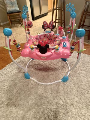 Bouncer for baby girl. Minnie Mouse! for Sale in Tolleson, AZ