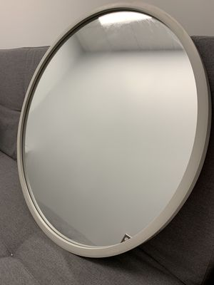 Mirror - Umbra® Hub 24-Inch Round Wall Mirror in Grey for Sale in Bethesda, MD