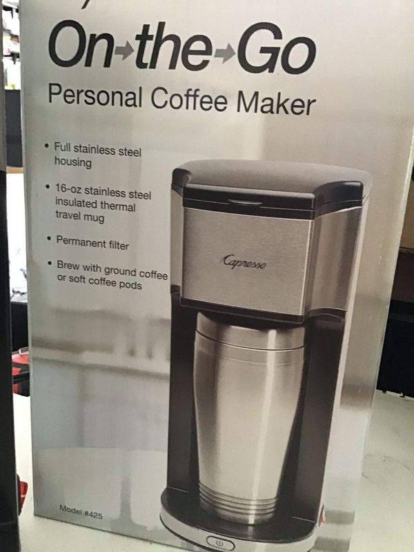 Capresso personal coffee Machine with personnel cup / new in the box