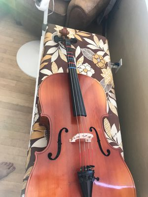 Cello, 1/2 size, C. Meisel, made in East Germany for Sale in San Diego, CA