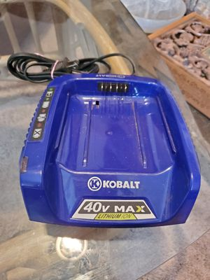 Kobalt 40v max lithium ion battery charger for Sale in Broadway, NC