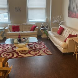Italian Leather Couch/loveseat for Sale in Fort Worth,  TX