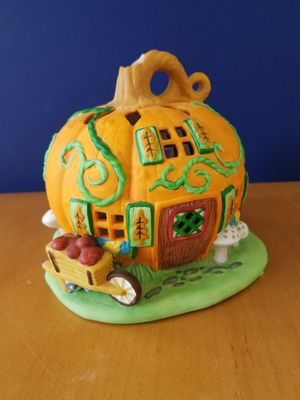 Halloween Party Lite, Patch, Tealight House, Candle Holder: Autumn for Sale in Mesa, AZ