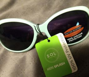 SOL Kids Splash UV Protection Sunglasses Girls for Sale in Luther,  MI