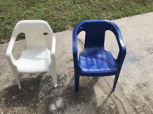 Kids Plastic Chairs for Sale in Deltona, FL