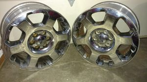 """20"""" Ford f150 factory original chrome clad aluminum alloy wheel(s,) rim(s) set of four for Sale in Columbia, IL"""