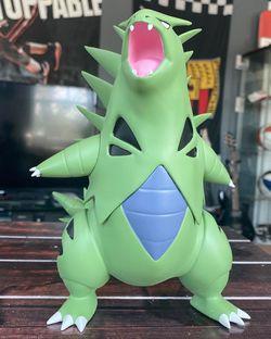 HUGE & HEAVY Perfect KING Tyranitar RESIN Statue Figure Model | Gr Rare Pokemon! for Sale in Miami Beach, FL