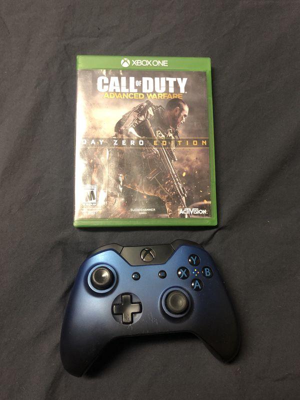 Xbox One Controller & Call of Duty Advance Warfare Day Zero Edition