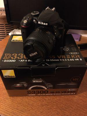 Nikon D3300 18-55 VR 2 Kit for Sale in Spring Hill, FL