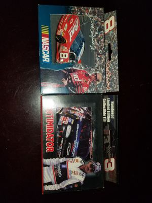 Dale Sr and Jr collectible tin and playing cards for Sale in Sylmar, CA