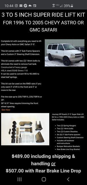 "3-5"" chevy astro / gmc safari lift kit for Sale in Arcadia, CA"