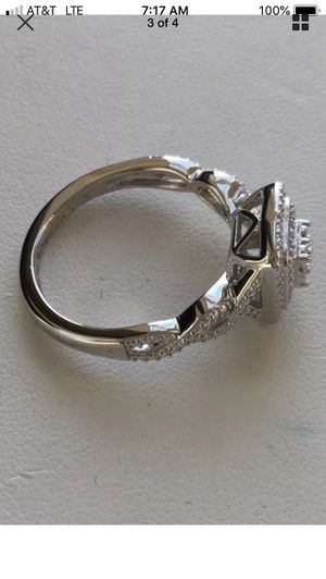 Kay Jewelers Diamond Ring New in Box - Size 7 - 925 - Free Earrings - Same Day Ship for Sale in Miami, FL