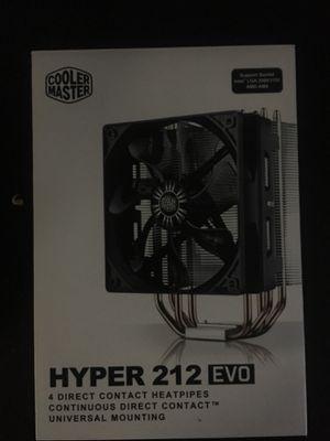 Cooler master CPU fan (big) for Sale in Naples, FL