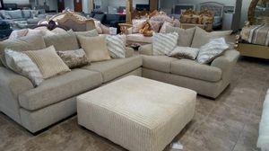 Sofa love and ottoman for Sale in Dallas, TX