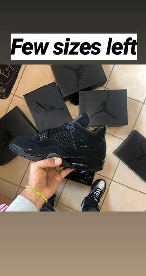 Jordan 4 Black Cat for Sale in North Bergen, NJ