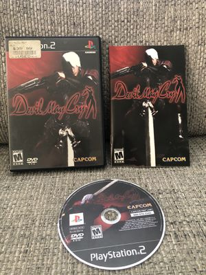 Devil May Cry - Playstation 2 PS2 Game - Tested for Sale in Fresno, CA